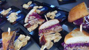 mini Porchetta sandwich