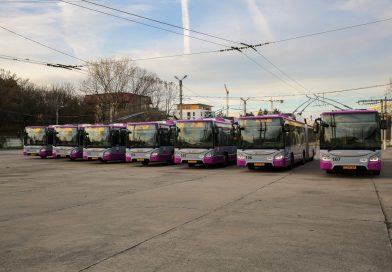 Troleibuzele noi din Cluj au un preț de aproape 3.000.000 lei/bucată
