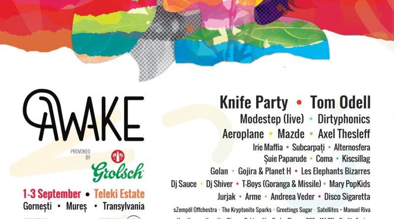 Knife Party este noua confirmare pentru AWAKE, plus programul pe zile al festivalului
