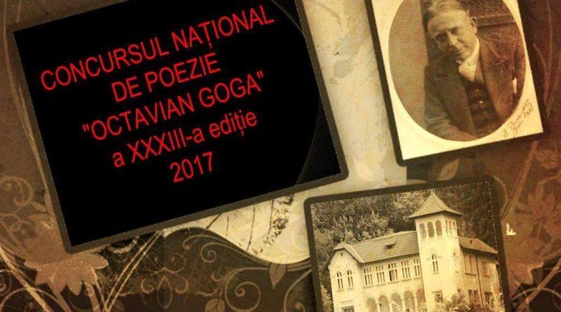 """Duminică are loc Festivalul Naţional de Poezie """"Octavian Goga"""""""