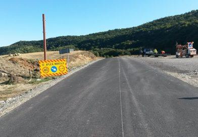 Lucrări de marcaje rutiere pe drumuri judeţene
