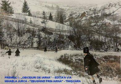 """Concursul de fotografie """"Obiceiuri de iarnă"""""""