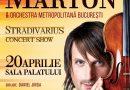 """Edvin Marton aduce """"Stradivarius"""" la Bucureşti"""