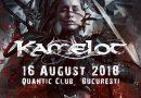 Pachete Meet & Greet pentru concertul Kamelot de la Bucureşti