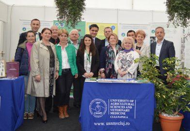 Gogoşi de viermi de mătase, miere, seminţe brevetate şi o conferinţă regională cu invitaţi din partea Comisiei Europene, între atracţiile USAMV Cluj-Napoca la Agraria 2018