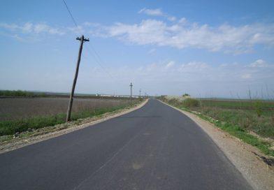 Asfaltare finalizată pe drumul judeţean DJ 107F