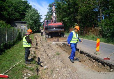 Lucrări de reabilitare şi modernizare pe drumul judeţean DJ 107P (DN 1R)