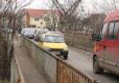 Circulaţia în zona podului Porţelanului, modificată