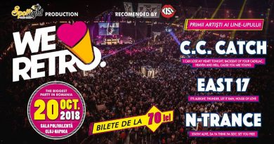 Primele nume confirmate la We Love Retro 2018