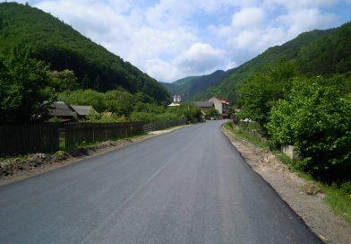 Lucrări de asfaltare finalizate pe drumul judeţean DJ 107J
