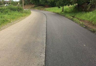 Lucrări de asfaltare pe drumul judeţean DJ 109C