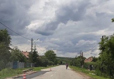 Asfaltare finalizată pe drumul judeţean DJ 161, Dăbâca – Pâglişa – Dârja – Panticeu