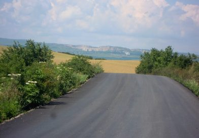 Asfaltare pe drumul judeţean DJ 161B Turda – Ploscoş