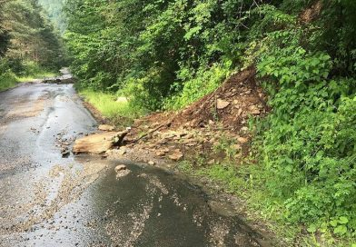 Aproape 750.000 lei pentru Cluj de la Guvernul României, pentru intervenţii pe drumurile judeţene afectate de ploile din ultima perioadă
