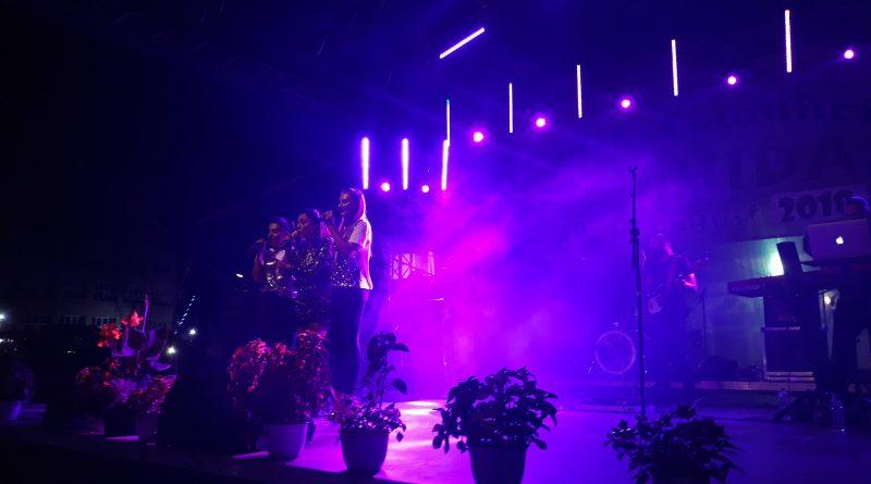 Andra a concertat pentru prima dată la Zilele Comunei Apahida