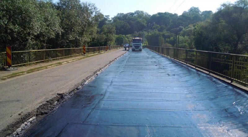 Lucrări de reabilitare a podurilor situate pe drumul judeţean DJ 109D Jucu
