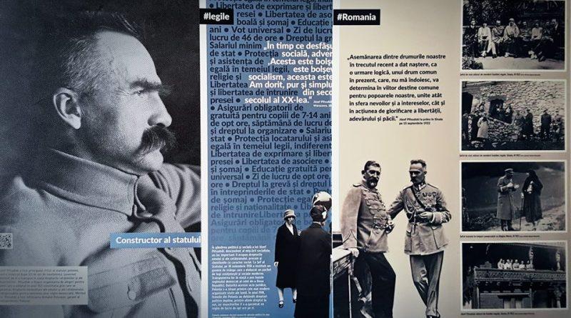 """""""Jozef Pilsudski – om de stat al Poloniei şi al Europei"""" – expoziţie la Biblioteca Judeţeană Cluj"""