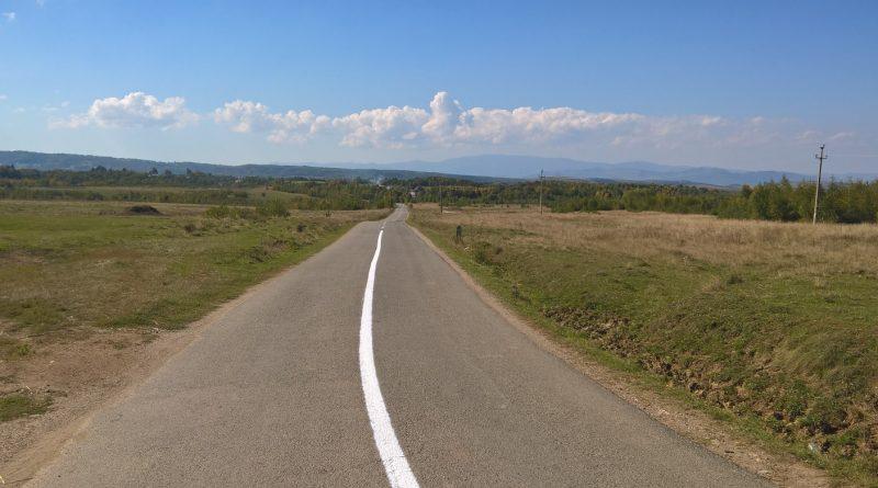 Marcaje rutiere executate pe drumurile județene în ultima săptămână