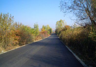 Finalizare lucrări de asfaltare, pe drumul judeţean 109V
