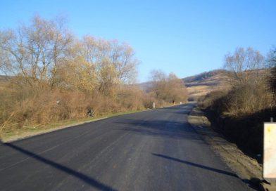 Asfaltare pe drumul județean 109A, Vultureni – Panticeu – Recea Cristur – Dealul Jurcii