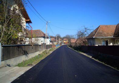 Asfaltare finalizată pe drumul județean 107R, Filea de Jos – Filea de Sus