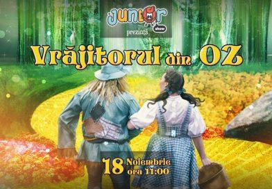 Vrăjitorul din Oz, un nou spectacol pentru copii, la Casa de Cultură a Studenților