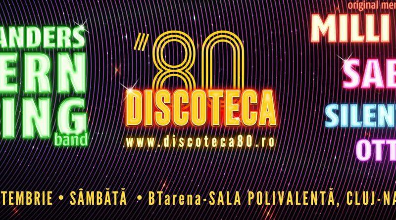 Modern Talking, Milli Vanilli, Sabrina, Silent Circle și Ottawan, la Discoteca '80 Cluj 2019