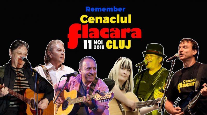 Cenaclul Flacăra revine în luna noiembrie la Cluj-Napoca