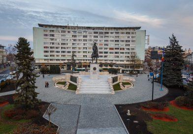 Piața Mihai Viteazul a fost modernizată în 2018