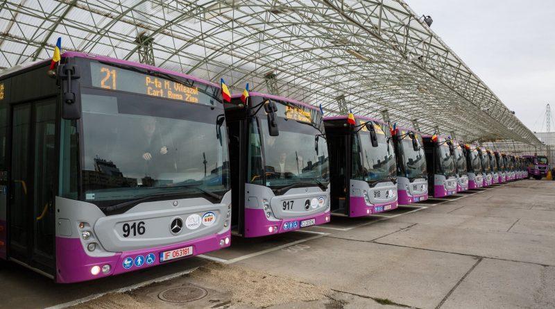 Clujul are în acest moment cele mai multe autobuze electrice din România