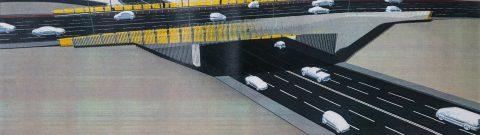 """Podul """"N"""" din Cluj-Napoca va fi tot anul în lucrări de modernizare"""
