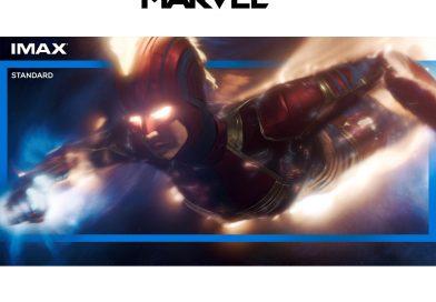Primul film Marvel cu o supereroină în rol principal, în formatele IMAX și 4DX