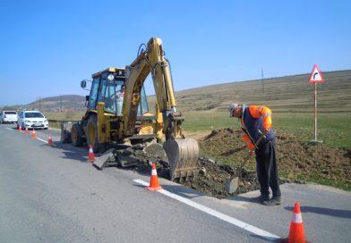 Lucrări pe drumurile județene în cursul lunii aprilie