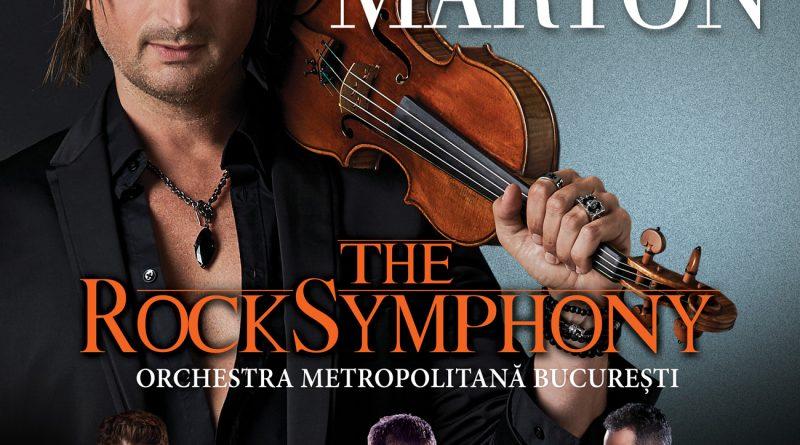 Edvin Marton și Orchestra Metropolitană Bucureşti, în concertul The Rocksymphony