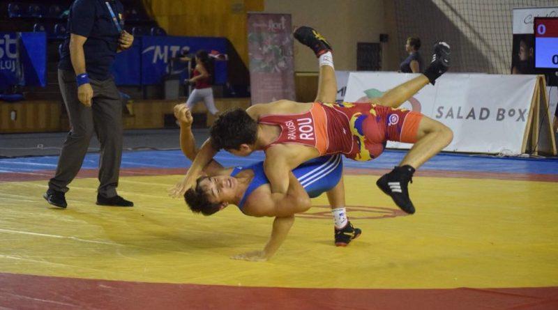 Campionatul Internațional de lupte libere pentru juniori, la Cluj-Napoca