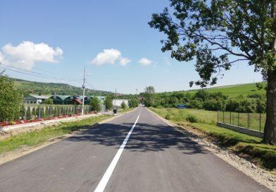 Marcaje rutiere pe drumul județean DJ 103M (DN 1)