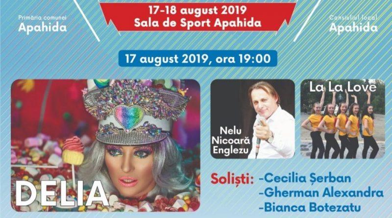 Delia concertează în weekend la Zilele comunei Apahida