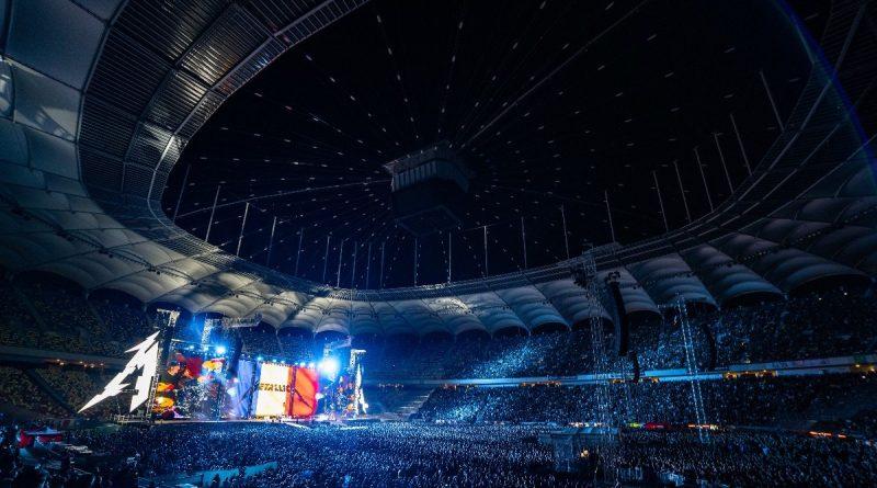 Record de spectatori pe Arena Națională, la concertul Metallica