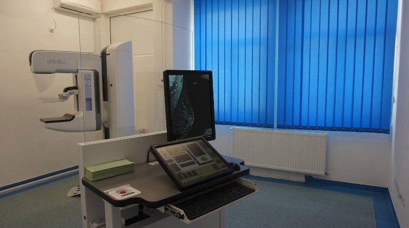 Echipament medical modern nou, pentru mamografie, la Spitalul Clinic CF