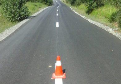 Marcaje rutiere au fost executate pe 81 de km de drumuri județene