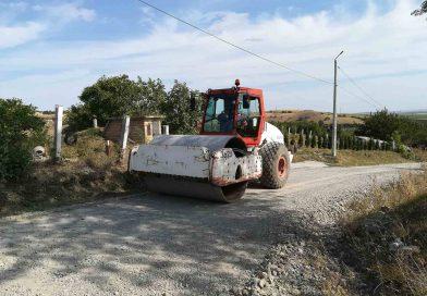 Lucrări pe drumul județean 103G Săndulești – (DJ 103I) Cheile Turzii