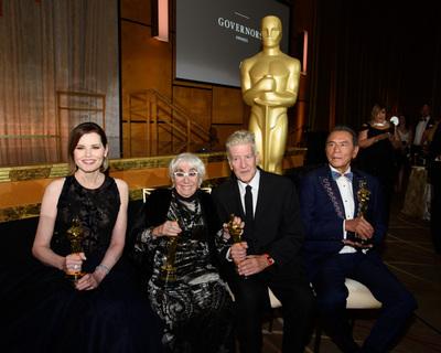 Premiile Guvernatorilor 2019; Patru personalități ale cinematografiei, celebrate la Hollywood