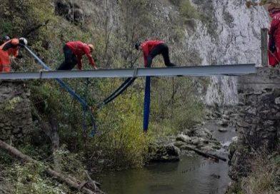 Patru poduri complet reabilitate, în Rezervația Naturală Cheile Turzii