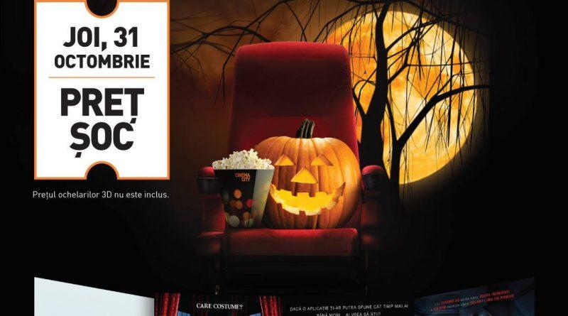 De Halloween, senzațiile de groază sunt asigurate de filme horror