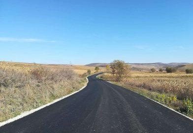 Lucrări de asfaltare finalizate pe drumul județean DJ 161E