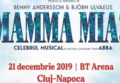 Spectacolul Mamma Mia! de la BT Arena Cluj-Napoca a fost reprogramat