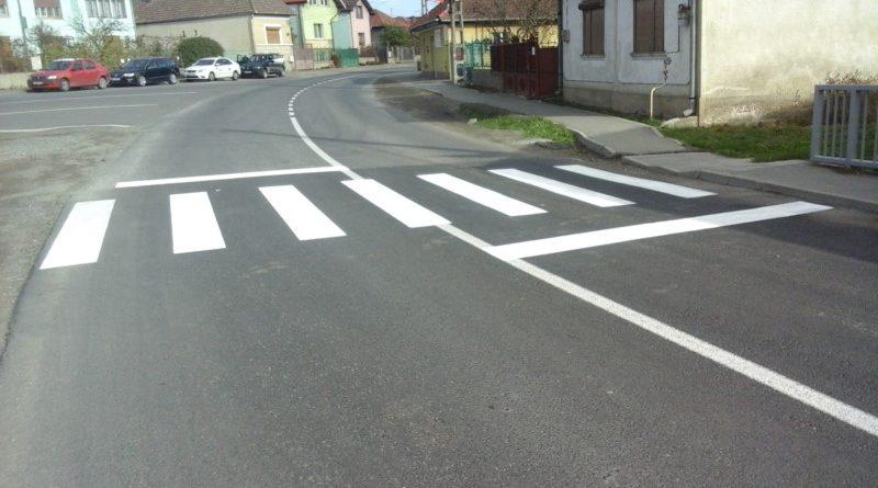 Lucrări de marcaje rutiere au fost executate pe 14 drumuri județene