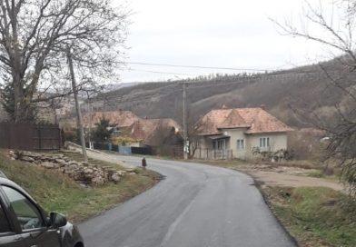 Asfaltare finalizată pe sectorul de drum DJ 161G Căianu