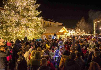 Moș Crăciun și ateliere pentru copii, la Târgul din Cluj-Napoca