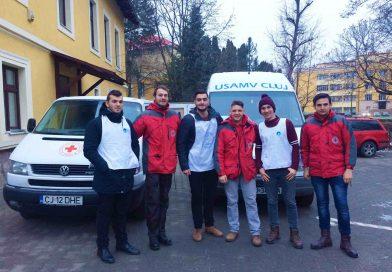 """""""Banca de Alimente la USAMV Cluj-Napoca"""", în parteneriat cu Crucea Roșie"""